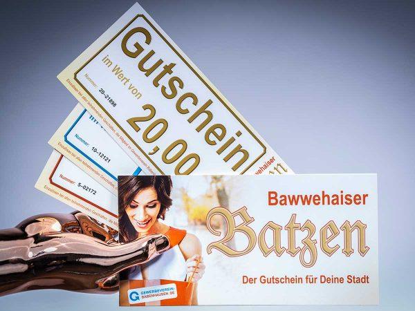 Der Bawwehaiser Batzen ist mittlerweile zu einem beliebten Zahlungsmittel