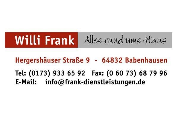 Willi Frank Babenhausen