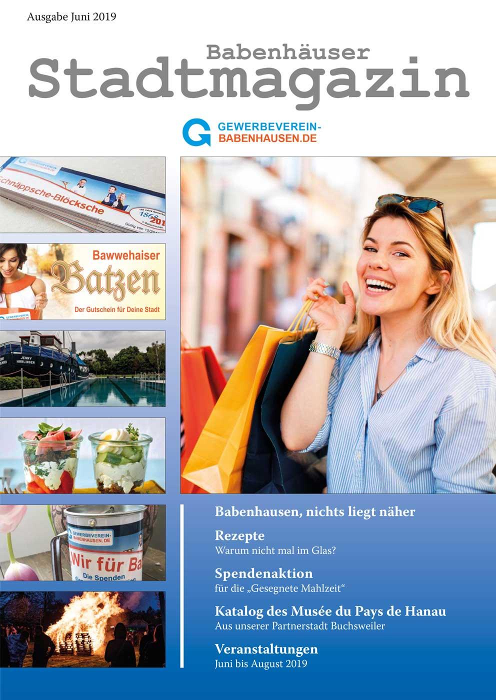 Babenhäuser city magazine June 2/2019
