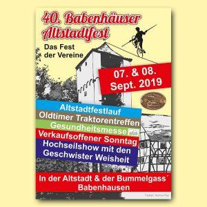 Altstadtfest Babenhausen 2019