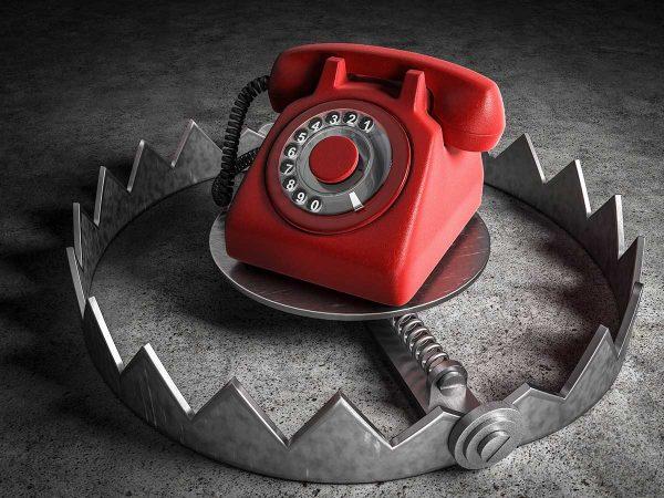 Achtung Anrufer mit- vorgetäuschter- Empfehlung