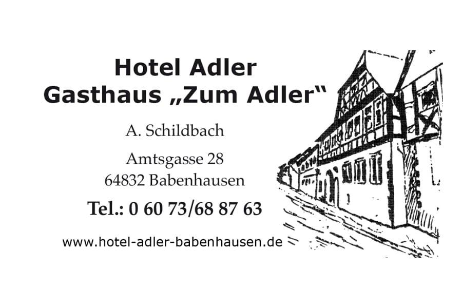 Hotel Restaurant Gasthaus zum Adler Babenhausen
