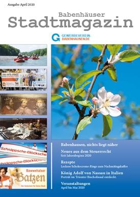 City magazine Babenhausen April 2020