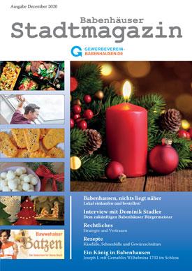 Stadtmagazin Babenhausen November 2020