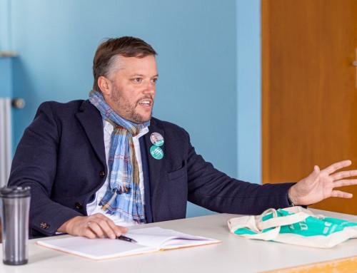 Schönes Auftakt–Treffen mit dem Bürgermeister